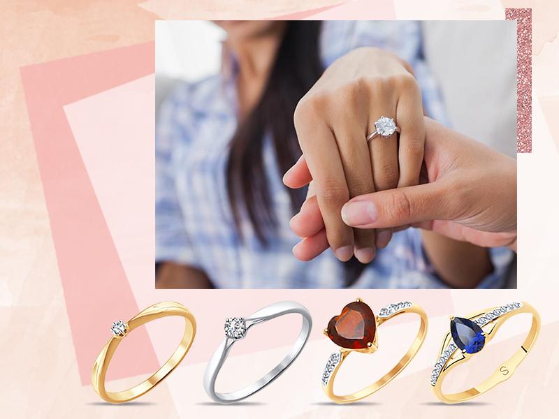 Драгоценные камни в помолвочных кольцах